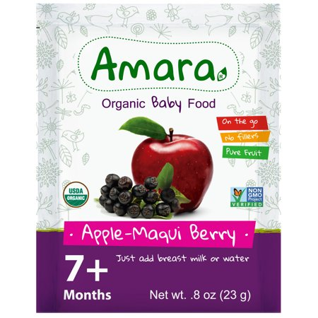 Image of AMARA Organic, Applesauce with Maqui Berries