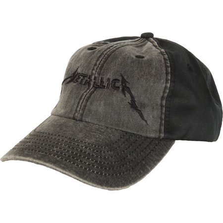 9f6b5ed1a01 Metallica - Metallica Men s Met Glitch Bolt Buckle Hat Baseball Cap Grey -  Walmart.com