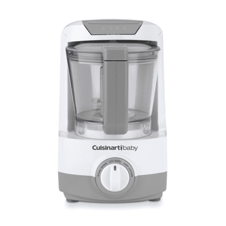 Cuisinart - 4-Cup Baby Food Maker and Bottle Warmer - White