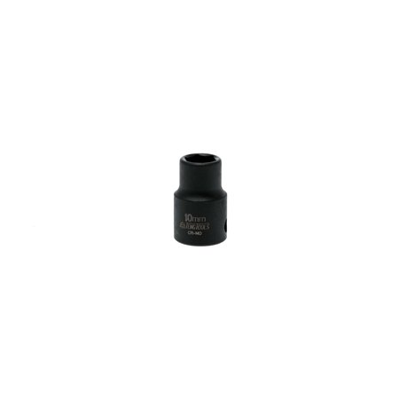 Teng Tools Regular Impact Socket 10mm 3/8 Inch Drive -