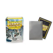 Dragon Shield Classic Silver Standard Size 100 ct Card Sleeves Individual Pack