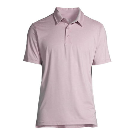 George Men's and Big Men's Short Sleeve Core Poly Polo Shirt, Up to Size 3XL