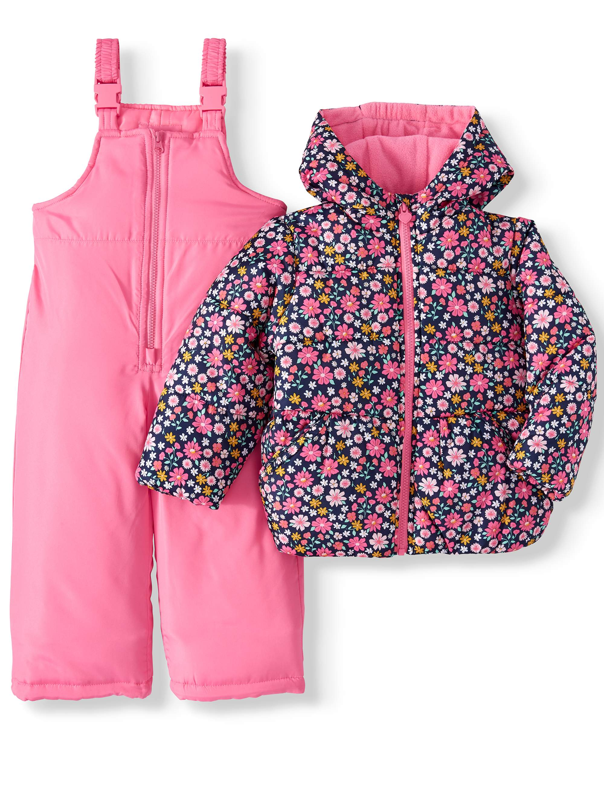 Carters Girls Snow Bib Ski Pants Snowsuit