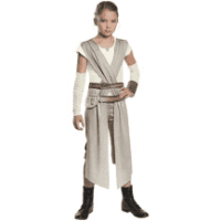 Star Wars Episode VII Classic Rey Child Halloween Costume