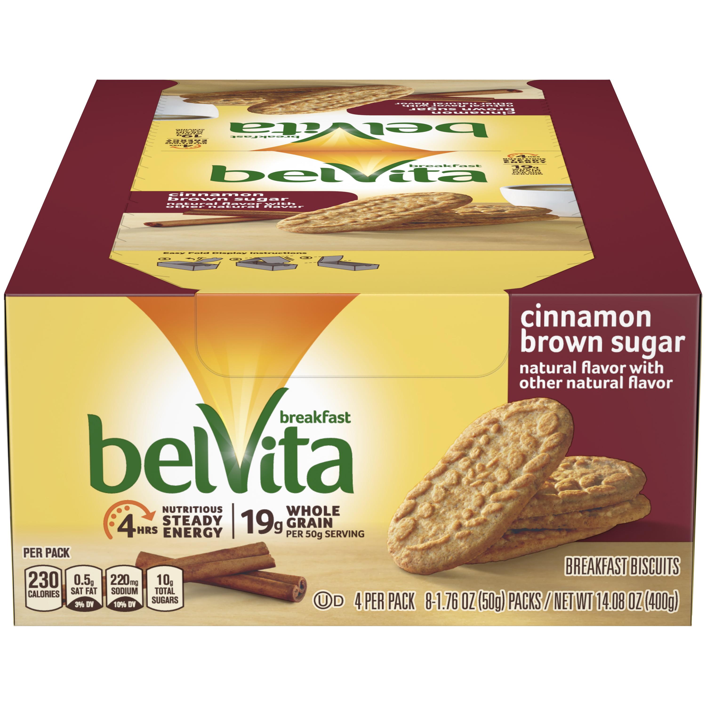 Belvita Cinnamon Brown Sugar Breakfast Biscuits, 14.1 Oz
