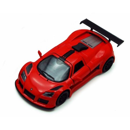 2010 Gumpert Apollo Sport  Red   Kinsmart 5356D   1 36 Scale Diecast Model Toy Car  Brand New  But Not In Box