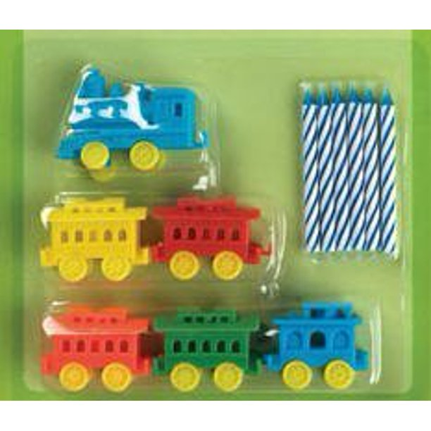 Groovy Cakesupplyshop Choo Choo Train Birthday Cake Decoration Candle Funny Birthday Cards Online Fluifree Goldxyz