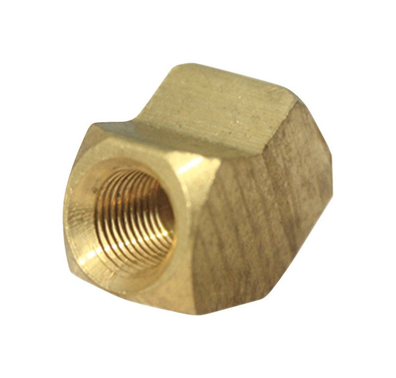"Jmf Pipe Elbow 45 Deg. 1/2 "" Fpt Yellow Brass Lead Free"