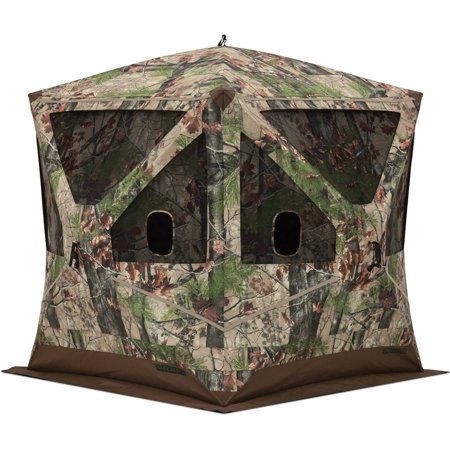 Barronett Blinds Big Ox 3 Person Pop Up Hunting Blind  Backwoods Camo