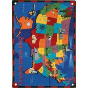 Joy Carpets Read Across America Area Rug
