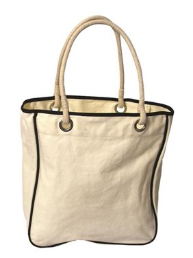 e5119771c61e Product Image Debco TO4530 Rope Tote Bag - Natural   Black Trim - 12 Pack