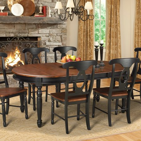 A America British Isles Oval Dining Table Walmart Com