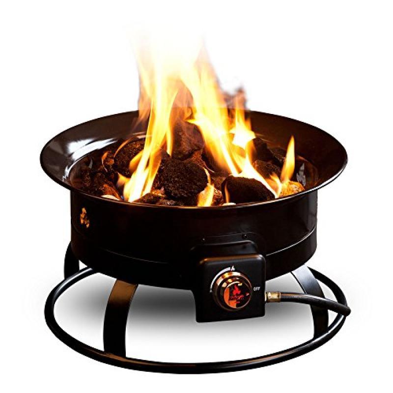 Heininger Outland Firebowl Portable Propane Fire Pit