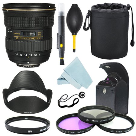 Tokina AT-X 116 PRO DX-II 11-16mm f/2.8 Lens for Nikon+ Filter Kit+ Accessor