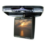 "XO Vision GX-2148 9"" Overhead Monitor with Built-in DVD Player, USB and SD Card Inputs and FM Transmitter"