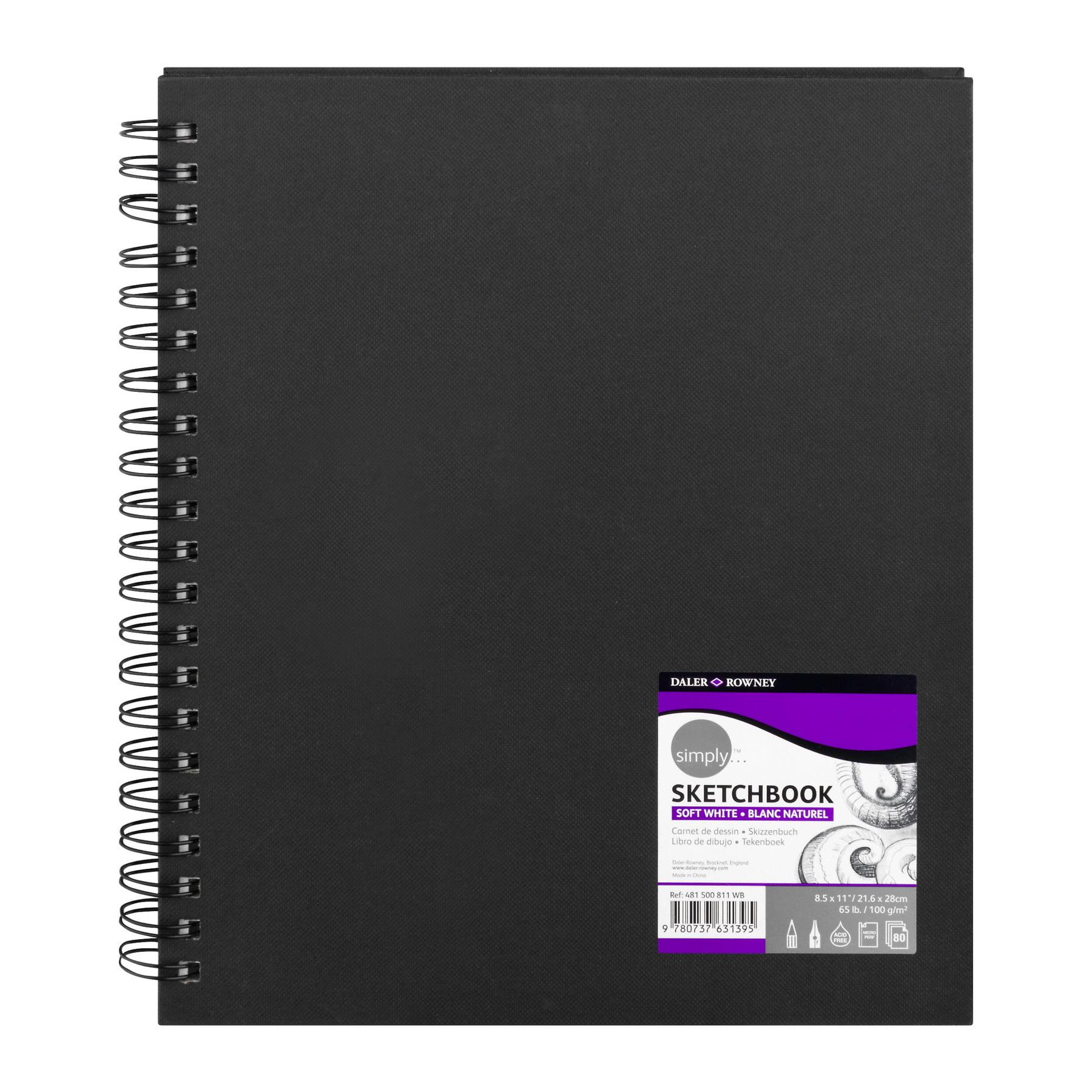"""Daler Rowney Simply Artist Sketchbook, 8.5"""" x 11\ by Daler-Rowney"""