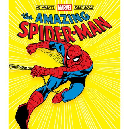 A Mighty Marvel First Book: The Amazing Spider-Man: My Mighty Marvel First Book (Board book)