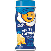 Kernel Season's White Cheddar Popcorn Seasoning, 8.5 Oz