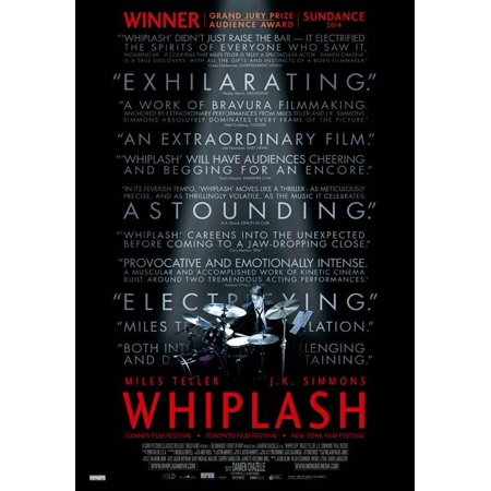 Whiplash  2014  27X40 Movie Poster  Canadian