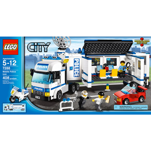 Lego City Mobile Police Unit Play Set by LEGO Systems, Inc.