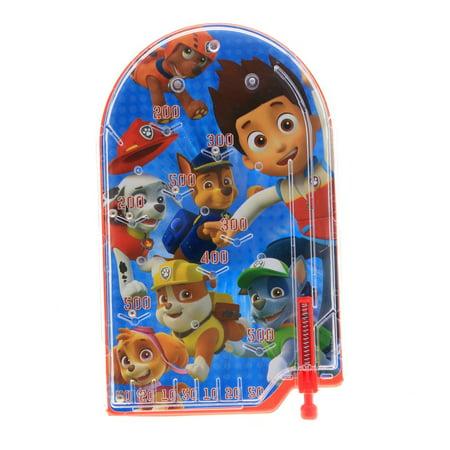 Nickelodeon Paw Patrol Kids Handheld Pinball Game Travel Toy Stocking - Kids Stocking Stuffers