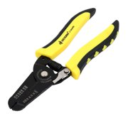 Yellow Plastic Coated Handle Wire Stripping Pliers Cable Cutter Hand Tool