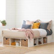 South Shore Avilla Storage Bed with Baskets, Multiple Sizes
