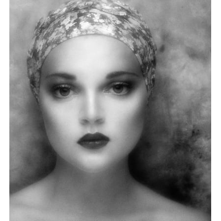 LAMINATED POSTER Face Retro Girl Glamour Portrait Woman Poster Print 24 x 36