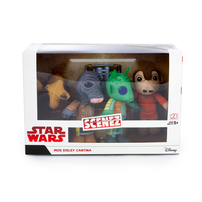 Star Wars Mos Eisley Cantina Mini Plush 4-Pack (Greedo, Ponda Baba, Momaw Nadon & Zutton)