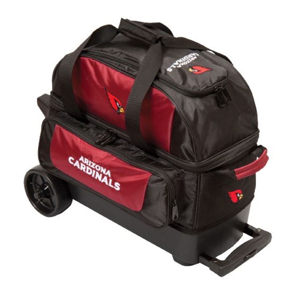 Arizona Cardinals Double Roller Bowling Bag