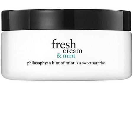 Fresh Cream & Mint Body Cream, 8 Oz