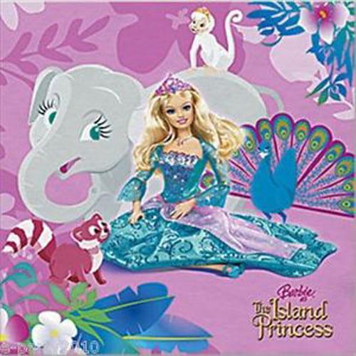 Barbie 'Island Princes' Small Napkins (16ct)