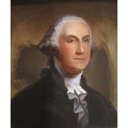 LAMINATED POSTER Painting Washington Reverse George Glass William Poster Print 24 x 36