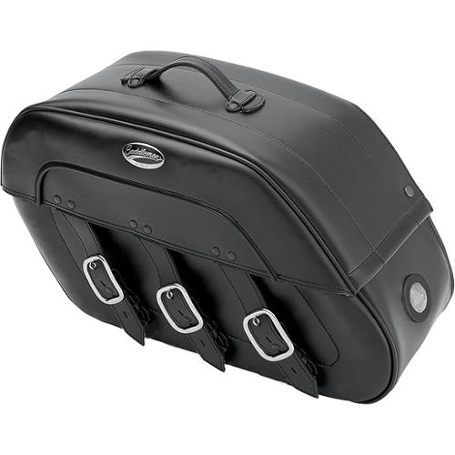 Saddleman S4 Rigid-Mount LED Saddlebags Drifter Fits 98-1...