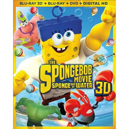 The SpongeBob Movie: Sponge Out of Water (Blu-ray + DVD)