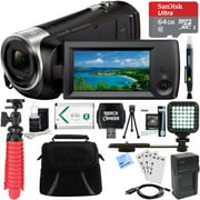 Best HD Camcorders - Sony HDR-CX405/B Full HD 60p Camcorder + 64GB Review
