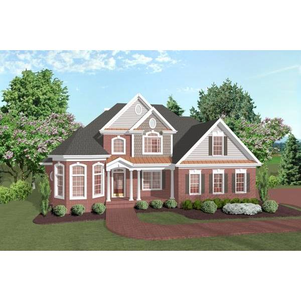 TheHouseDesigners-6255 Southern House Plan with Crawl Space Foundation (5 Printed Sets)