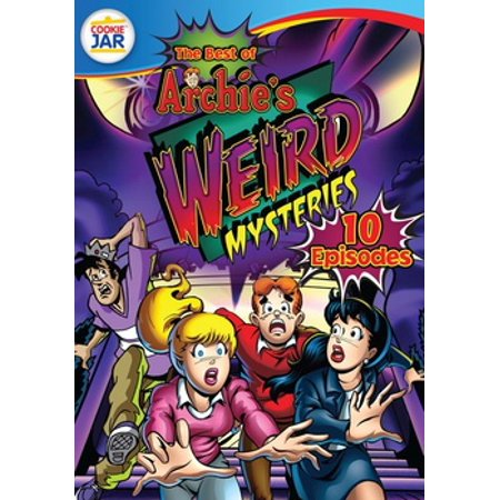 BEST OF ARCHIES WEIRD MYSTERIES (DVD/10 EPISODES) (The League Best Rafi Episodes)