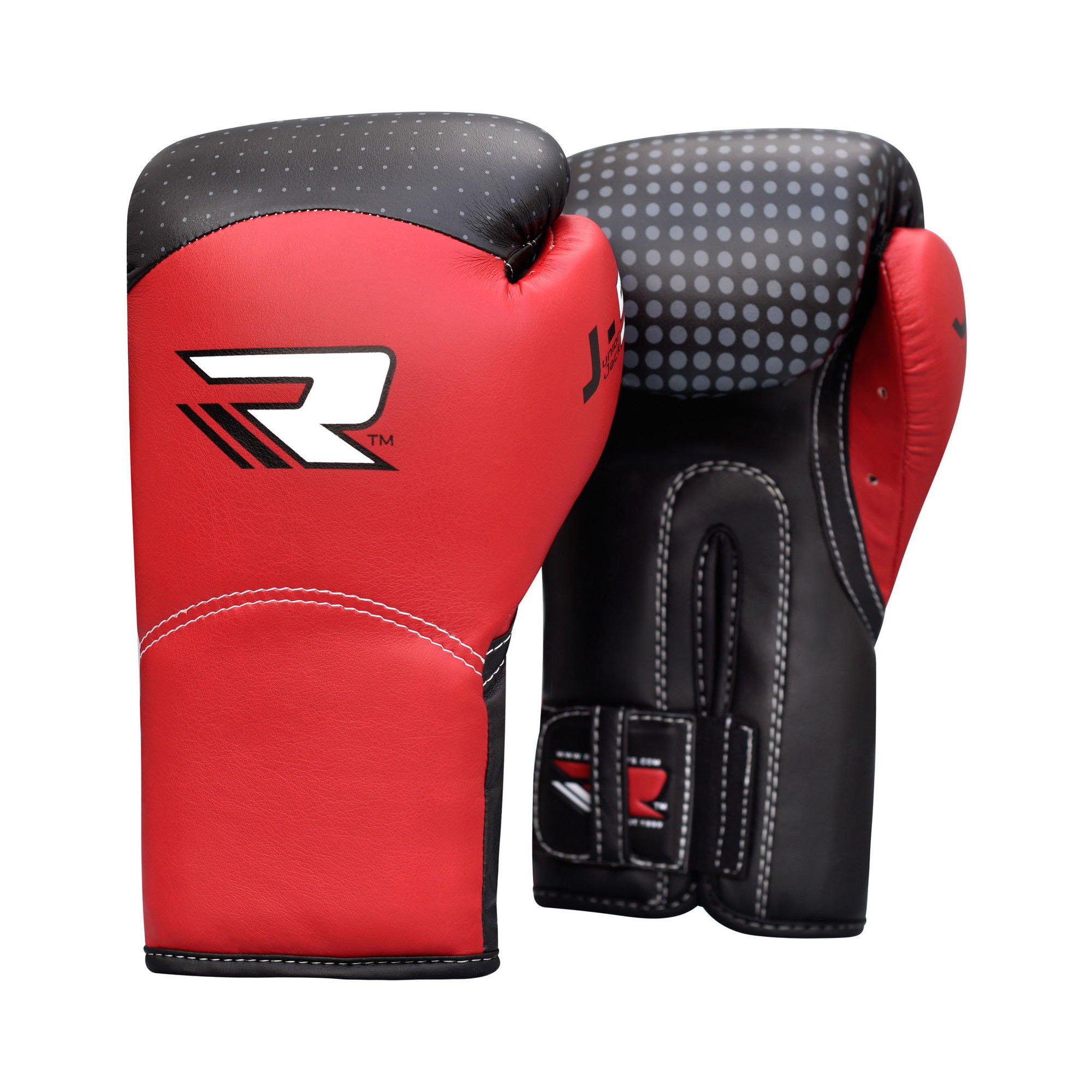 RDX Kids Boxing Gloves Muay Thai Junior Mitts Maya Hide Leather Sparring Fighting Punching Bag Fighting Kickboxing Training