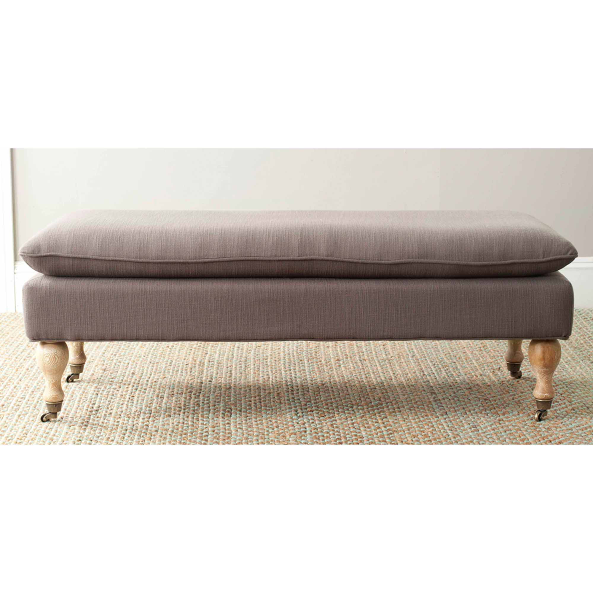 Safavieh Hampton Pillowtop Bench, Multiple Colors