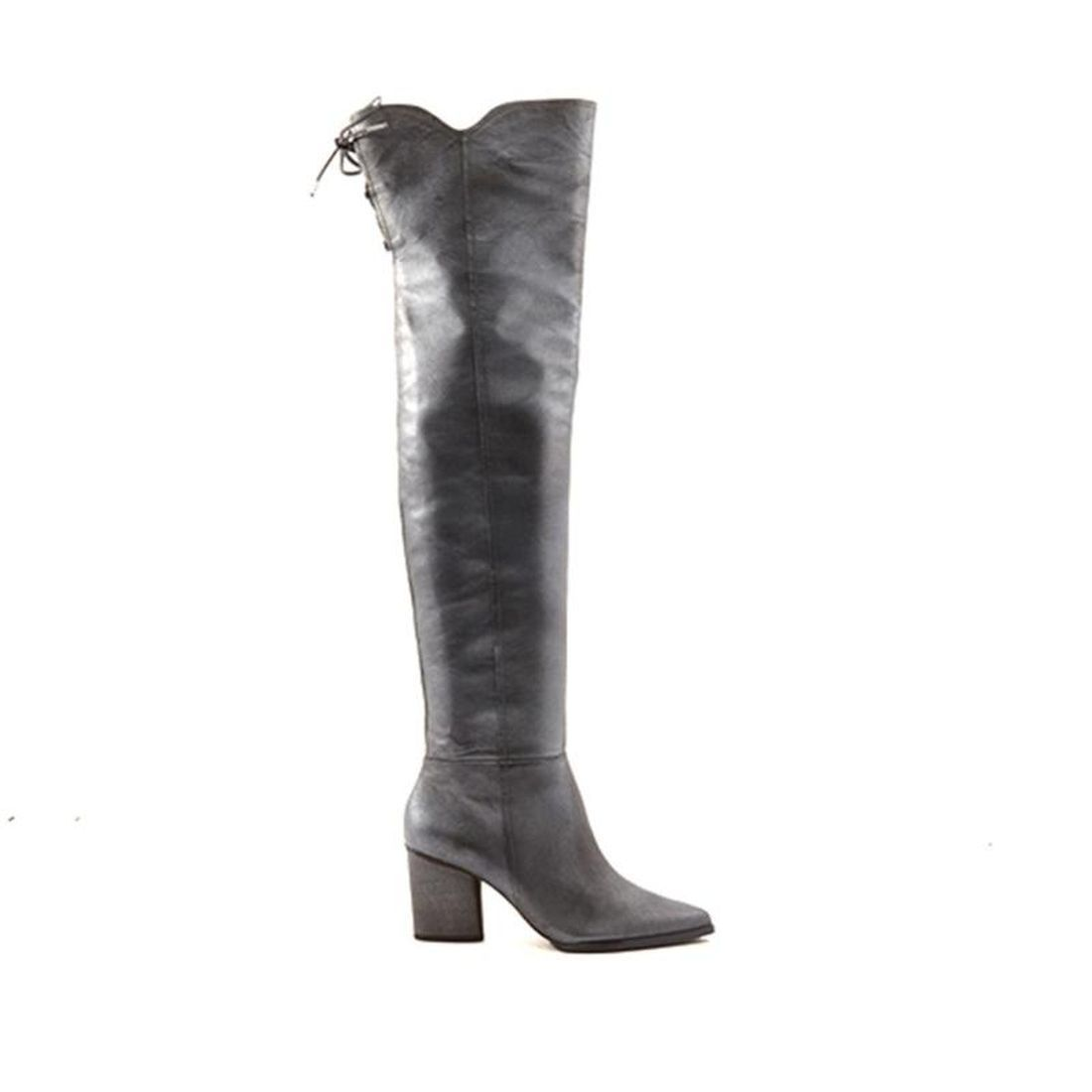Donald J Pliner Leore Pull-On Over-the-Knee Leather Boot 576-664 by