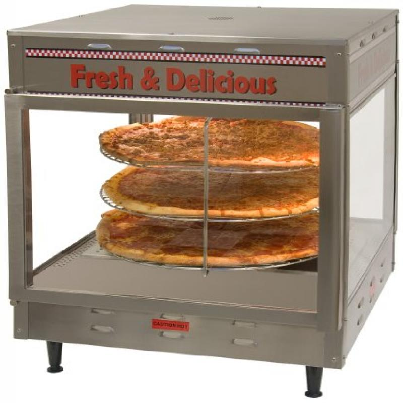 Benchmark 51018 Pizza/Pretzel Warmer, 18 Holding Capacity
