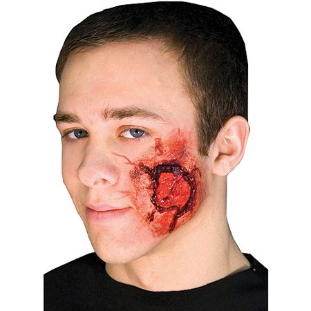 Open Wound Prosthetic Halloween Accessory