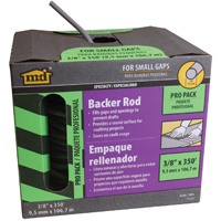 M-D Building Products Pro Pack Backer Rod, 3/8 in W x 350 ft L