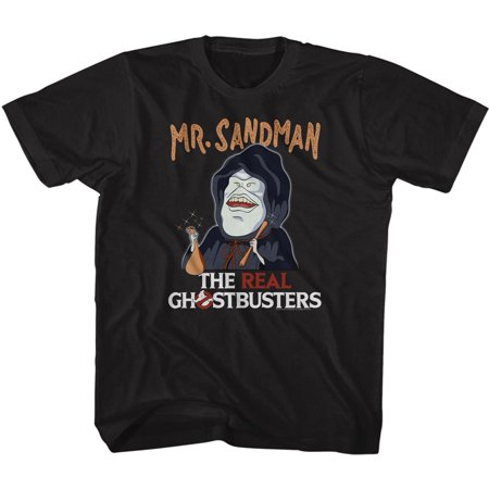 The Real Ghostbusters TV Series Mr Sandman Black Toddler Little Boys T-Shirt Tee - image 1 de 1
