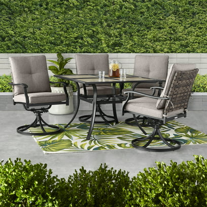 Better Homes & Gardens Elmdale 5-Piece Outdoor Dining Set
