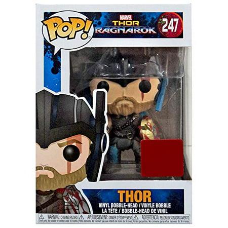 Funko Pop Vinyl Marvel Thor Ragnarok Collector Corps Thor With Helmet Figure 247