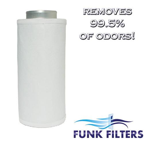 "Funk Filter s 6"" x 24"" Activated Carbon Scrubber Odor Con..."
