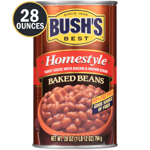 Homestyle Baked Beans, Canned Beans