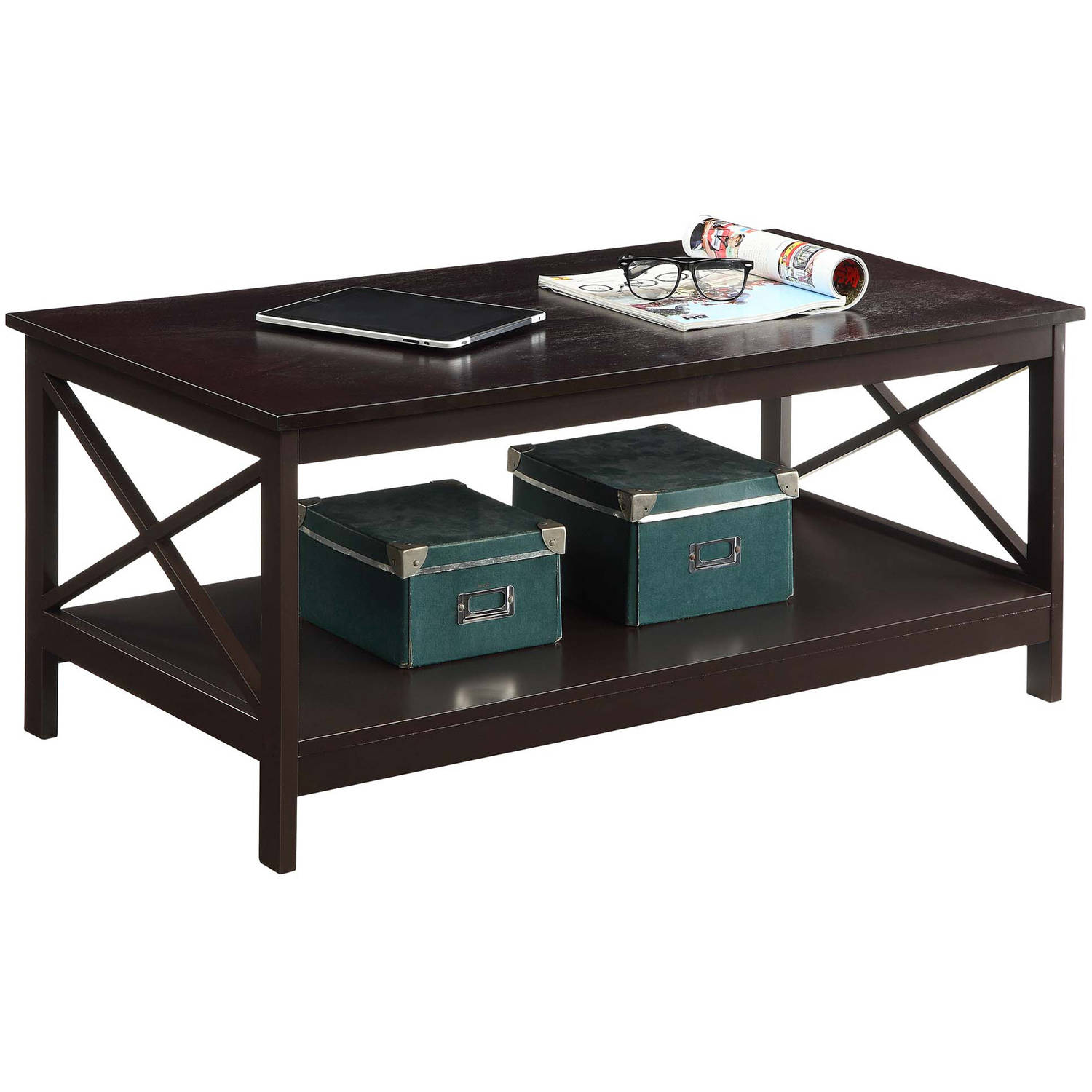 Convenience Concepts Oxford Coffee Table, Multiple Colors   Walmart.com